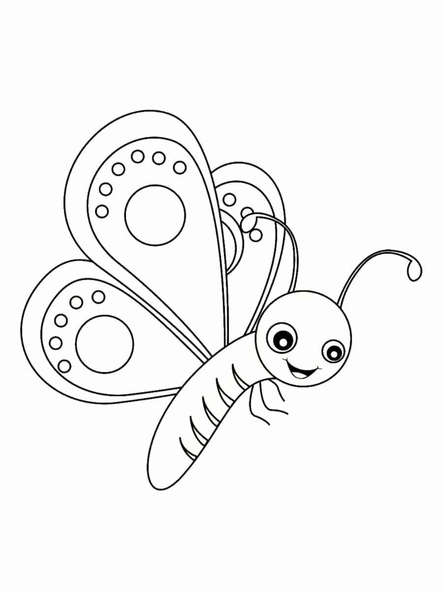 Coloriage Papillon : 40 Dessins À Imprimer Gratuitement dedans Dessin De Vague A Imprimer