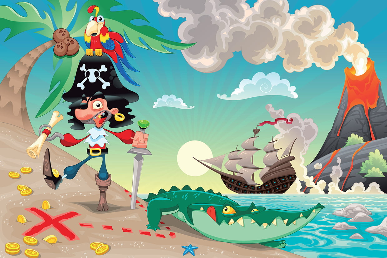Coloriage Pirate Sur Hugolescargot tout Histoires De Pirates Gratuit