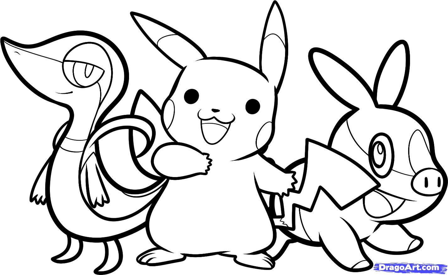 Coloriage Pokemon - Les Beaux Dessins De Meilleurs Dessins À destiné Imprimer Coloriage Pokemon
