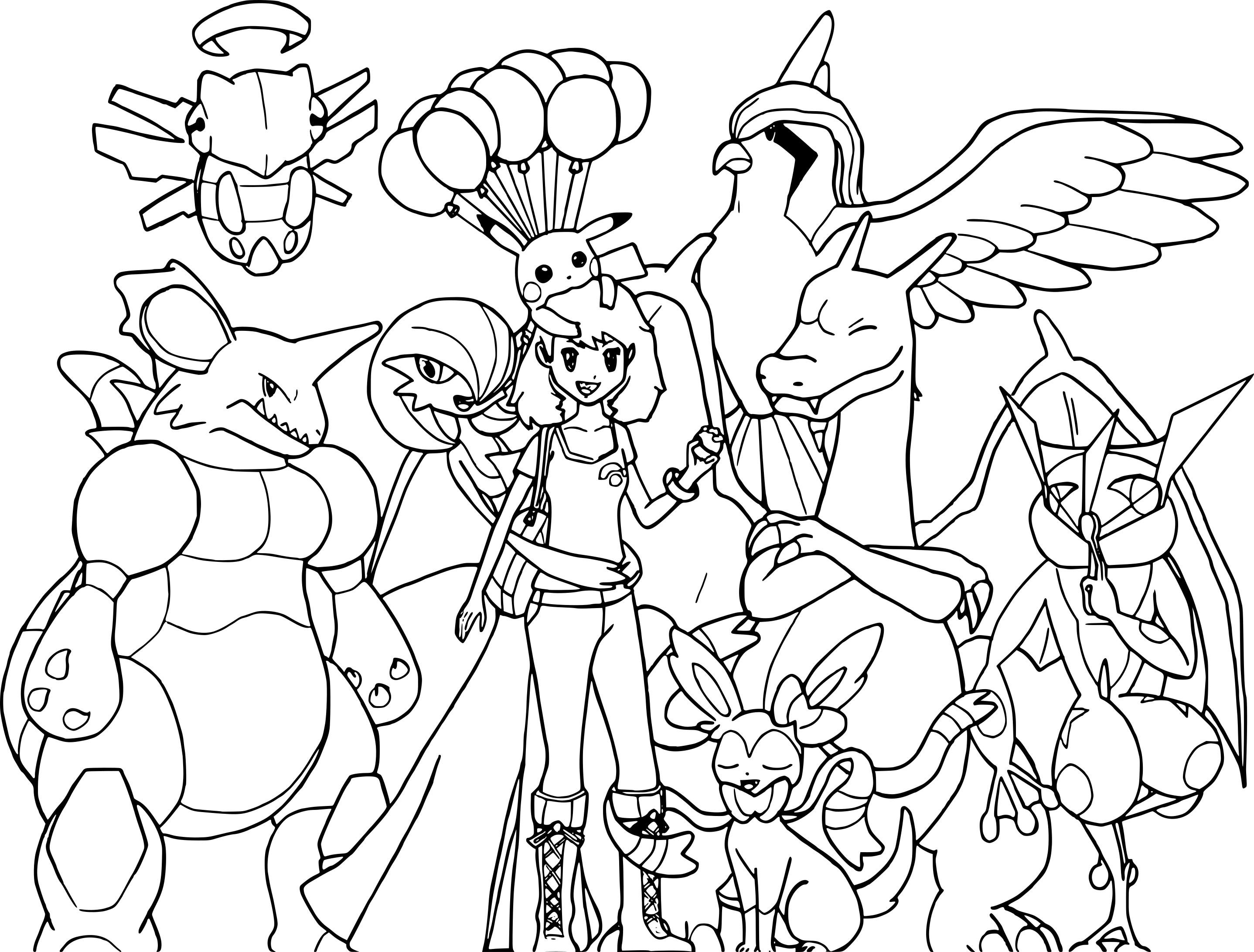 Coloriage Pokemon Noir Et Blanc À Imprimer Sur Coloriages intérieur Imprimer Coloriage Pokemon