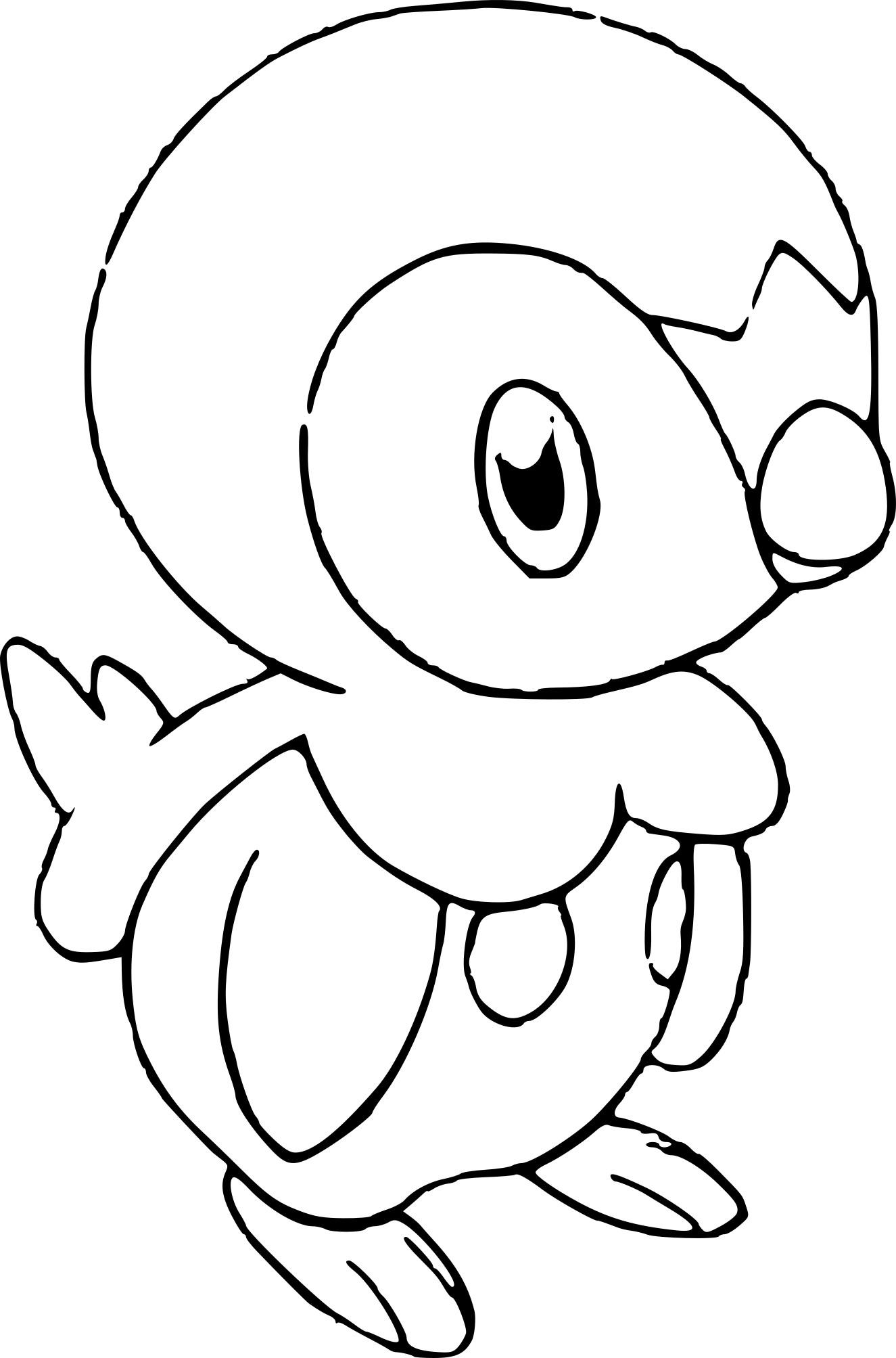 Coloriage Pokemon Tiplouf À Imprimer avec Imprimer Coloriage Pokemon