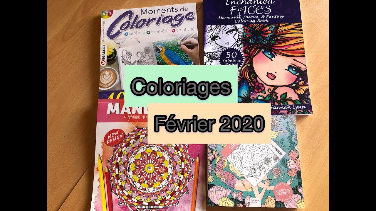 [Coloriage] Réalisations Février 2020 pour Coloriage Février