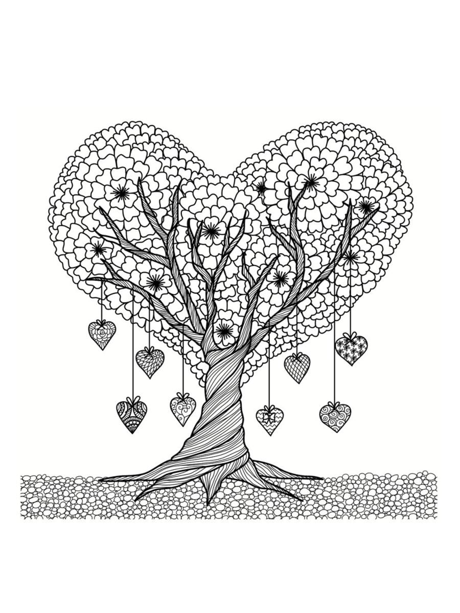 Coloriage Saint Valentin : 40 Dessins À Imprimer Gratuitement avec Dessin Pour La Saint Valentin