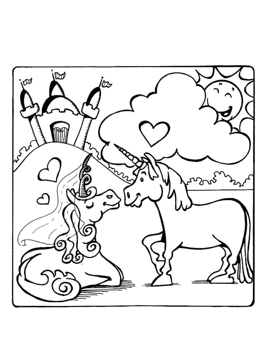 Coloriage Saint Valentin : 40 Dessins À Imprimer Gratuitement serapportantà Coloriage De St Valentin