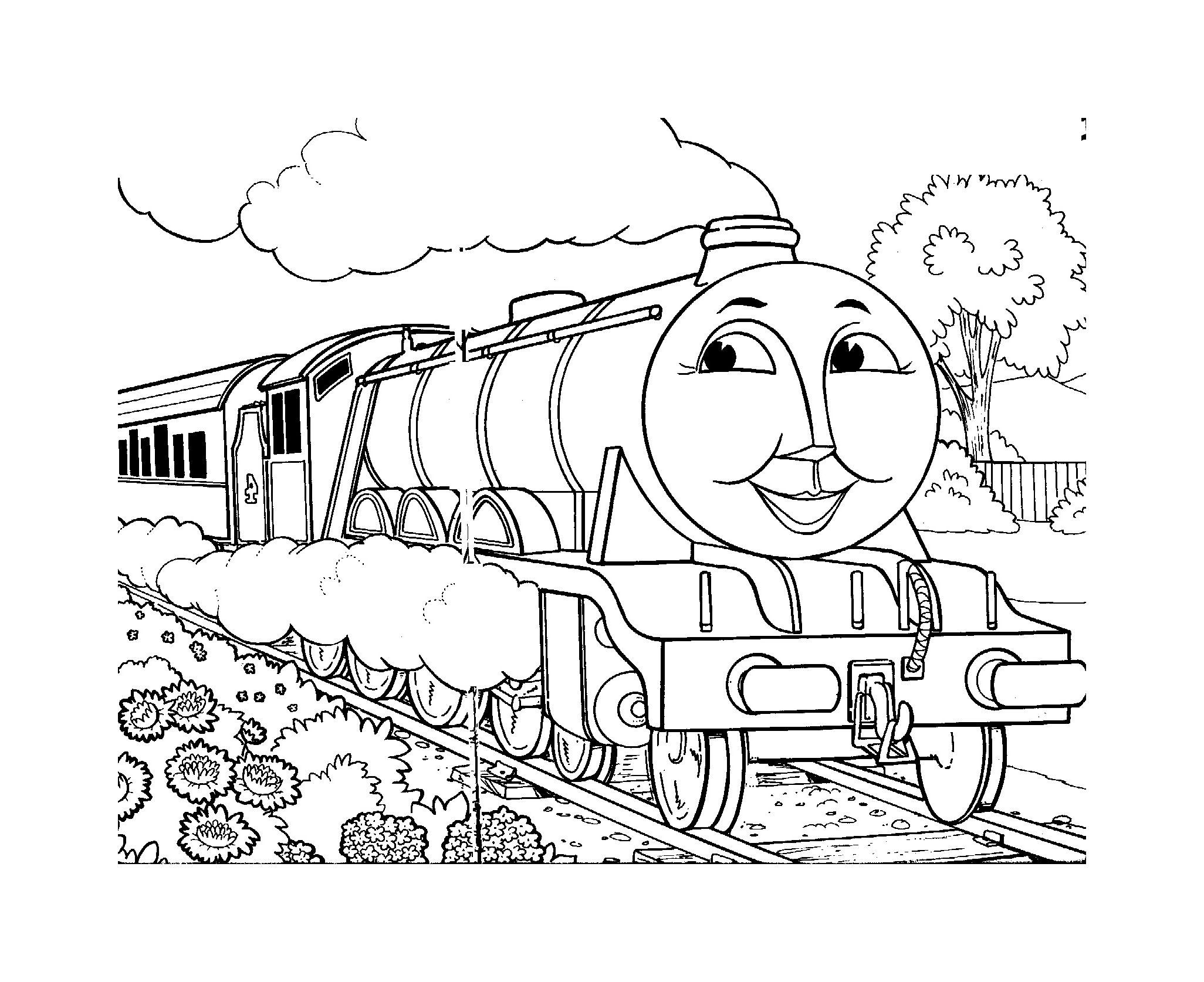 Coloriage Thomas Et Ses Amis - Coloriages Pour Enfants dedans Coloriage Thomas Le Petit Train