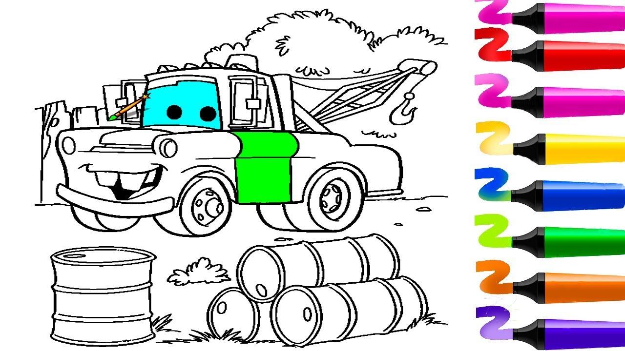 Coloriage Voiture! Coloriage Flash Mcqueen (Cars)! Coloriage Magique!  Dessin Facile intérieur Coloriage Vehicule