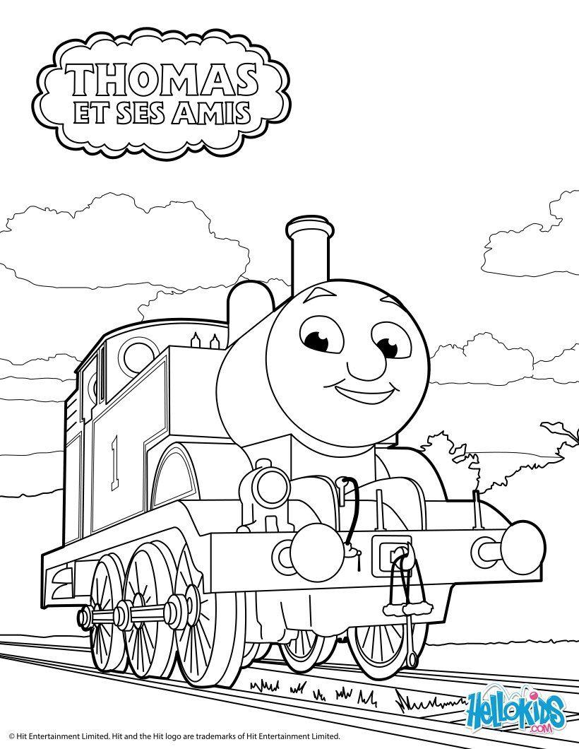 Coloriage204: Coloriage Thomas Le Petit Train | Thomas Le concernant Coloriage Thomas Le Petit Train