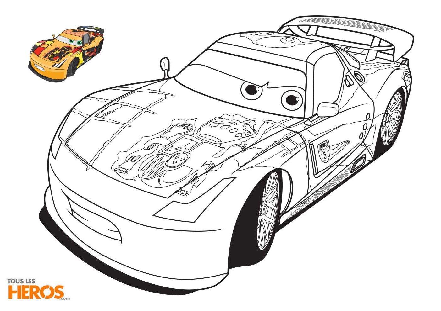 Coloriage_Cars5-1 (1403×992) | Coloriage, Voiture Coloriage dedans Dessin A Imprimer Gratuit Cars