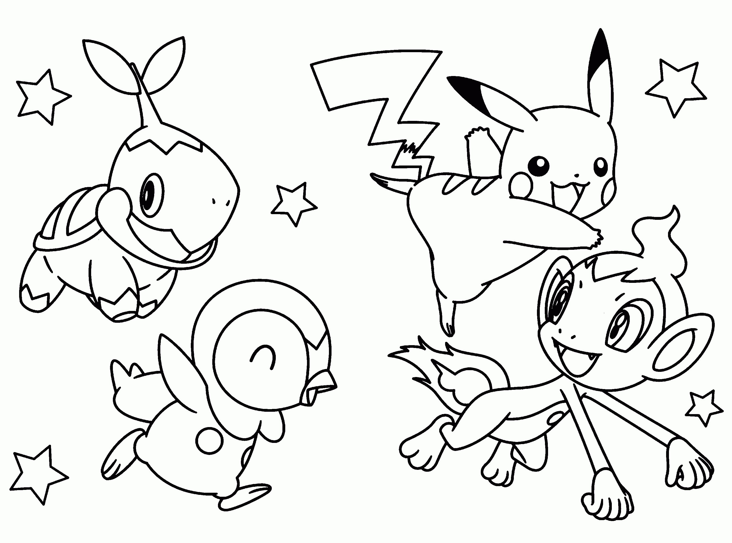 Coloriages À Imprimer : Pokemon, Numéro : Ad12C970 tout Imprimer Coloriage Pokemon