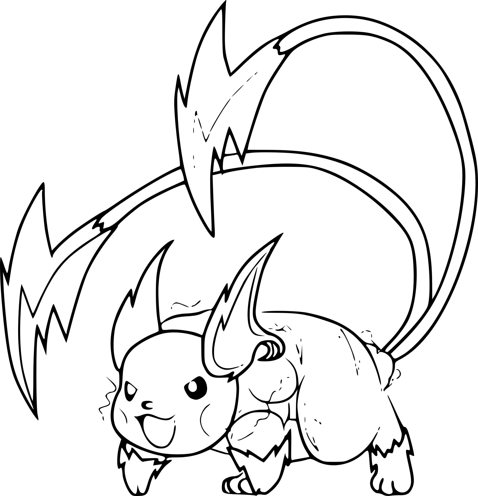 Coloriages À Imprimer : Pokemon, Numéro : B5Ed80E5 serapportantà Imprimer Coloriage Pokemon