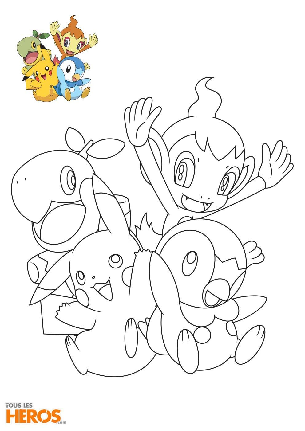Coloriages Pokémon À Imprimer Gratuitement Avec Le Blog De avec Imprimer Coloriage Pokemon