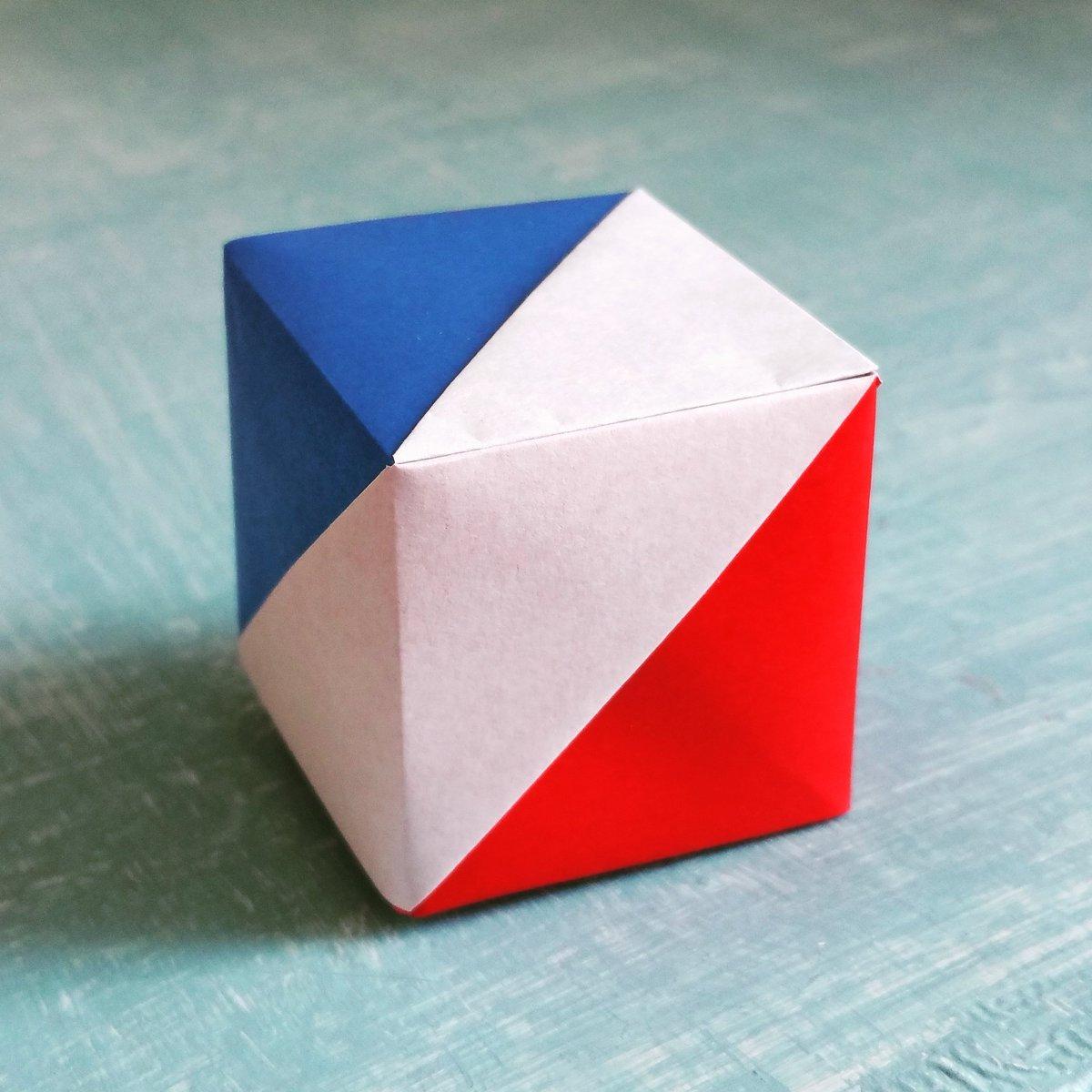 """Colorigami On Twitter: """"mon Nouveau Modèle #origami : Une concernant Origami Facile A Faire En Français"""