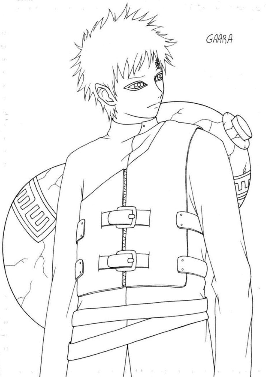 Coloring Page Coloring Home | Desenho De Anime à Coloriage De Naruto Shippuden A Imprimer