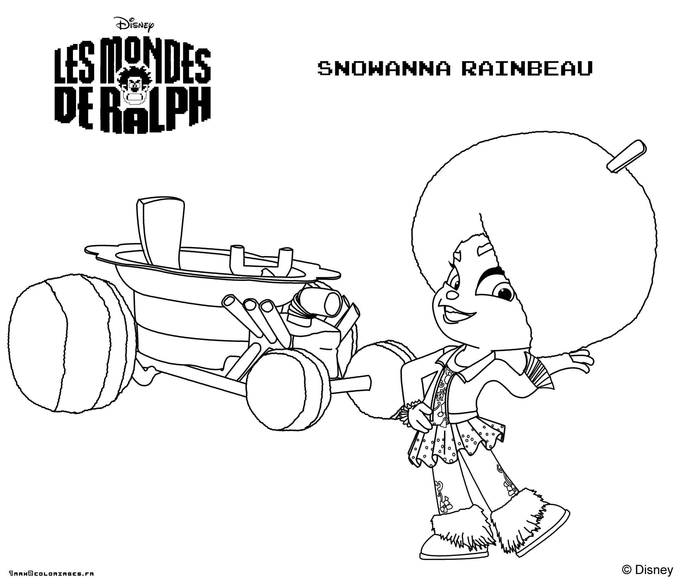 Coloring Page Wreck-It Ralph à Coloriage Ralph La Casse