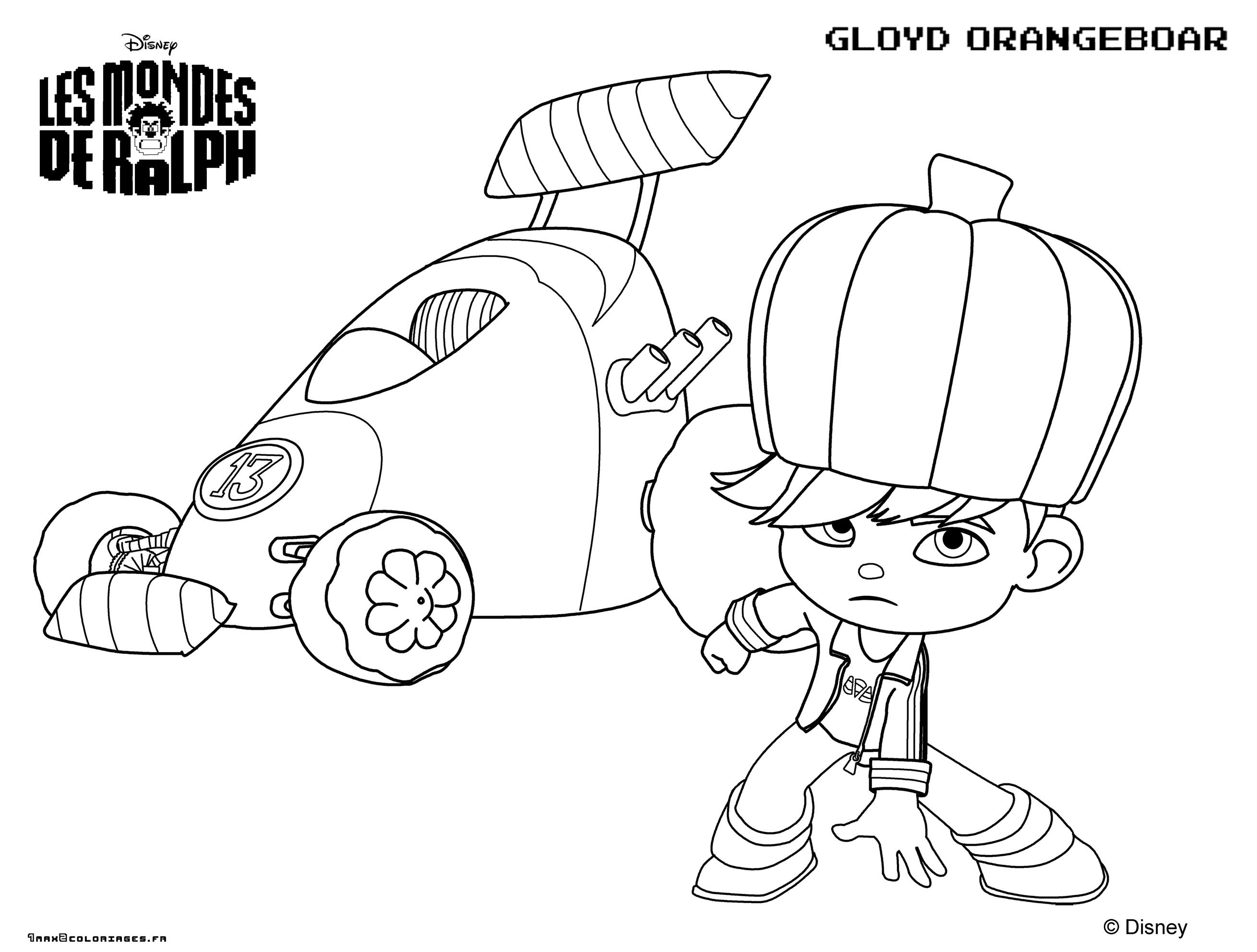 Coloring Page Wreck-It Ralph dedans Coloriage Ralph La Casse