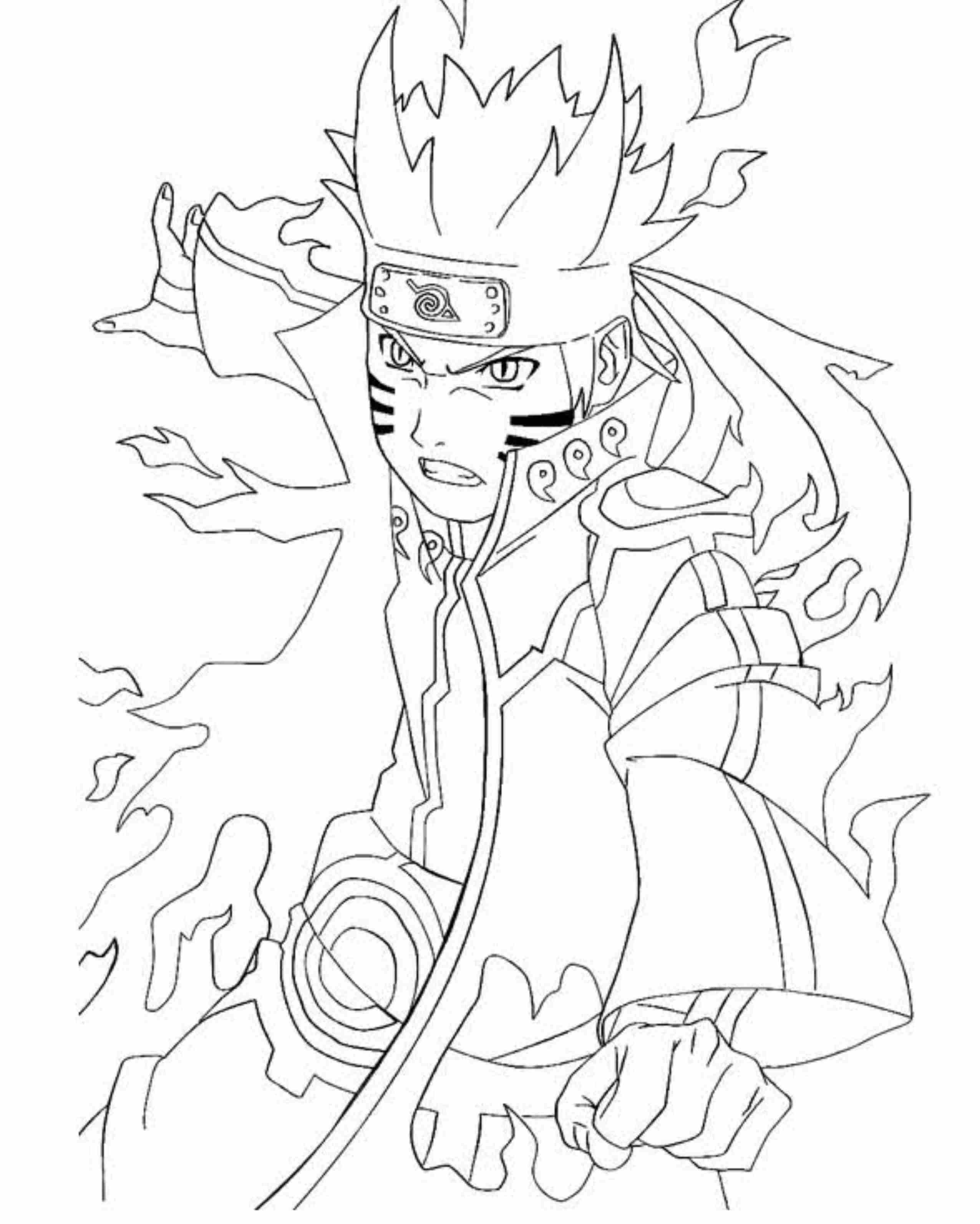 Coloring-Pages-Of-Naruto-Shippuden-Characters | Coloriage serapportantà Coloriage De Naruto Shippuden A Imprimer