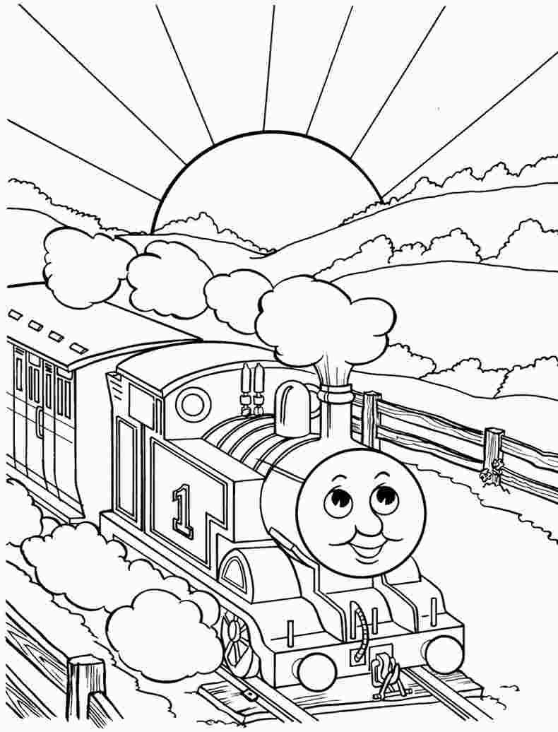 Coloring Picture Of Thomas The Train | Train Coloring Pages concernant Coloriage Thomas Le Petit Train