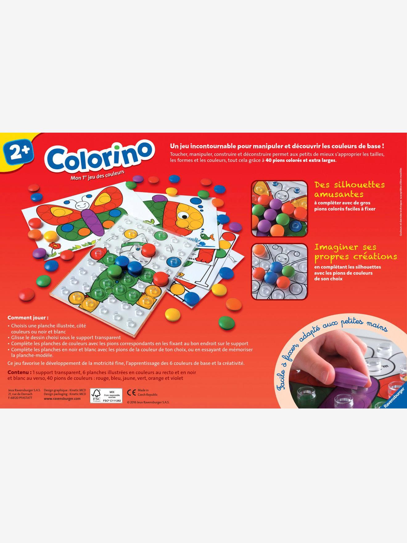 Colorino - Ravensburger encequiconcerne Colorino A Imprimer