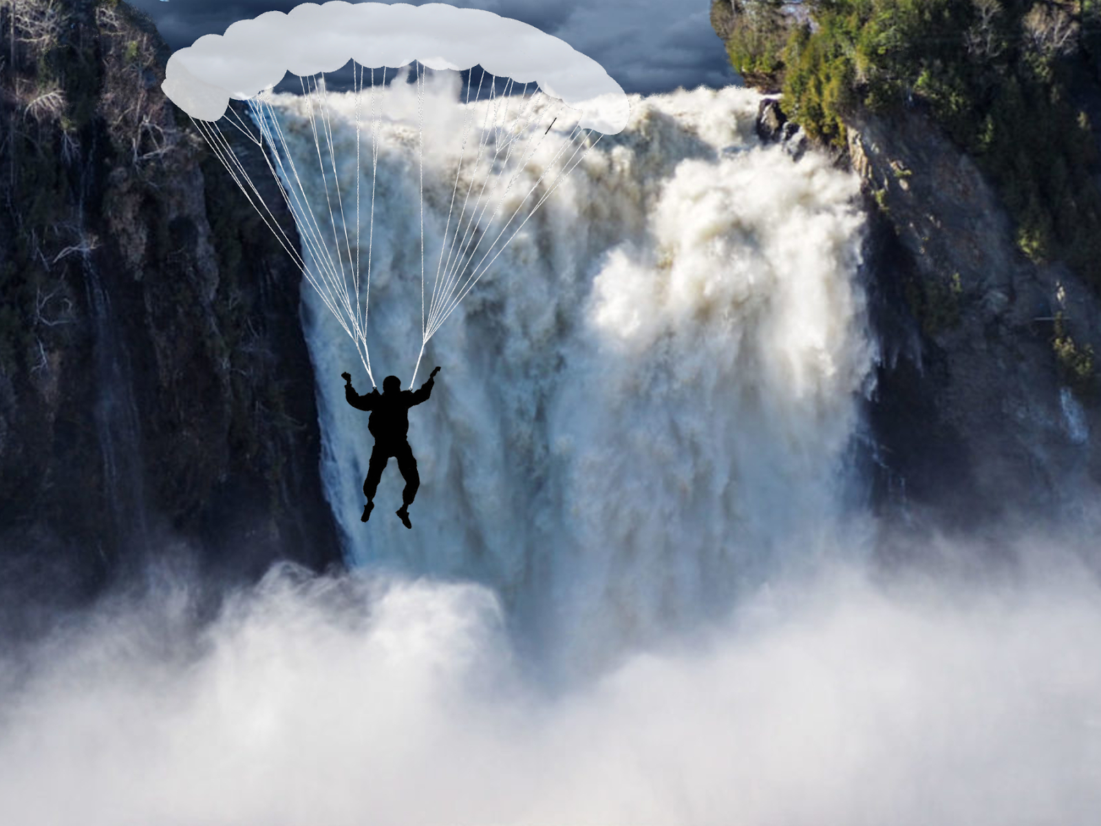 Commando Gomessende: Un Parachute Qui S'est Fait Voile encequiconcerne Le Vent Dans Les Voiles Chanson