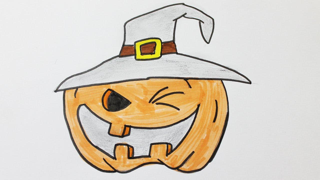Comment Dessiner Une Citrouille D'halloween concernant Photo De Citrouille D Halloween