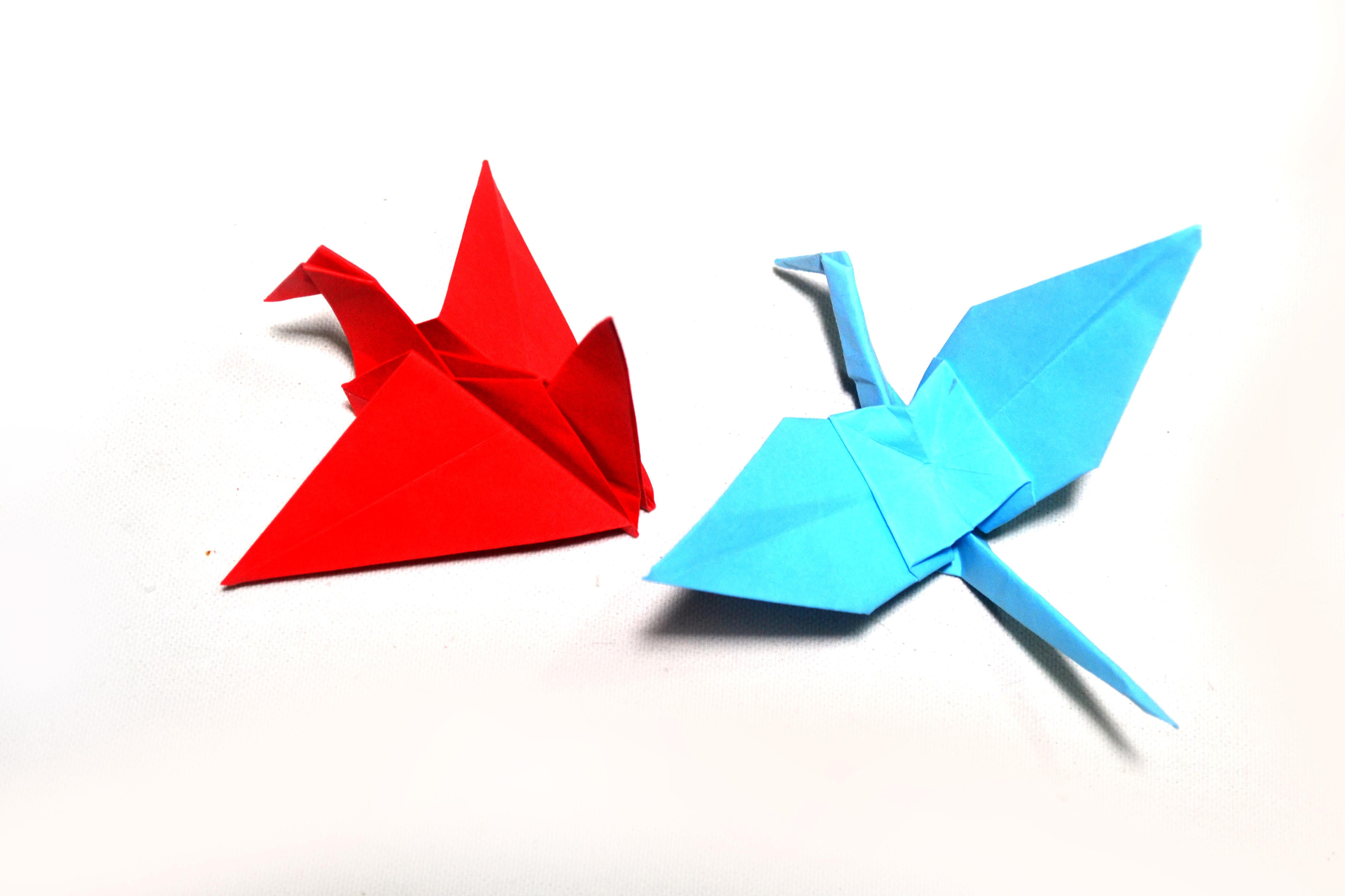 Comment Faire Un Oiseau En Origami (Avec Images) destiné Origami Canard