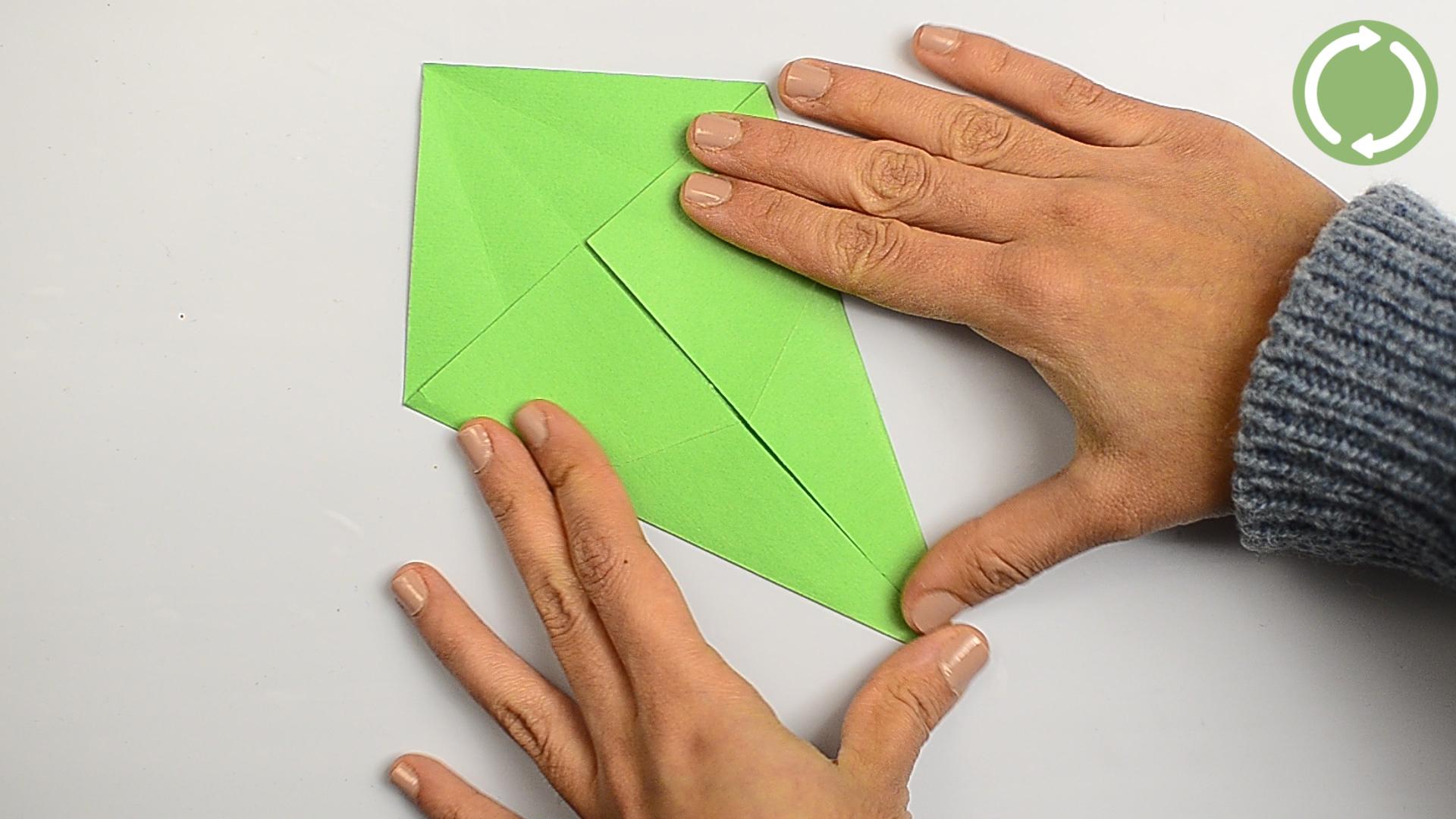 Comment Faire Un Origami En Forme De Dragon serapportantà Origami Facile A Faire En Français