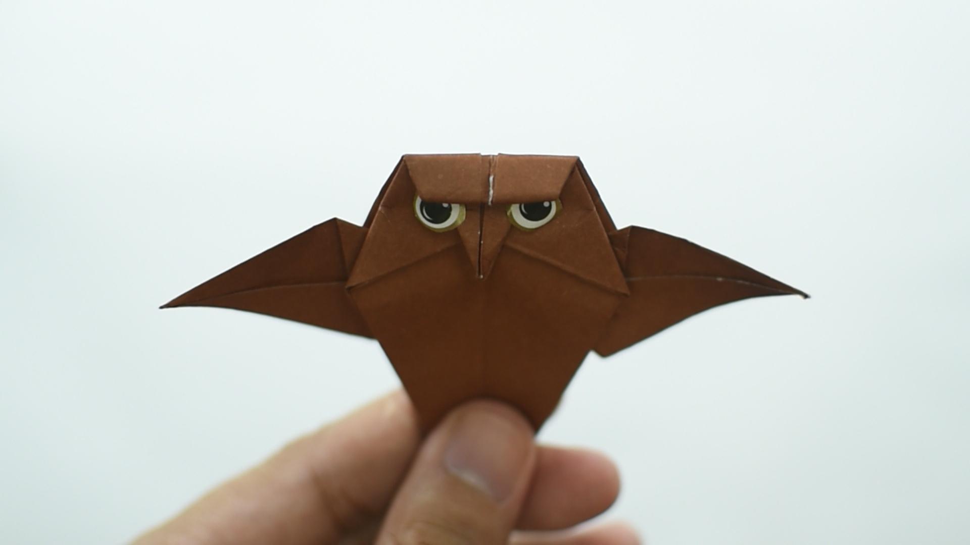 Comment Faire Une Chouette En Origami (Avec Images) pour Origami Facile A Faire En Français