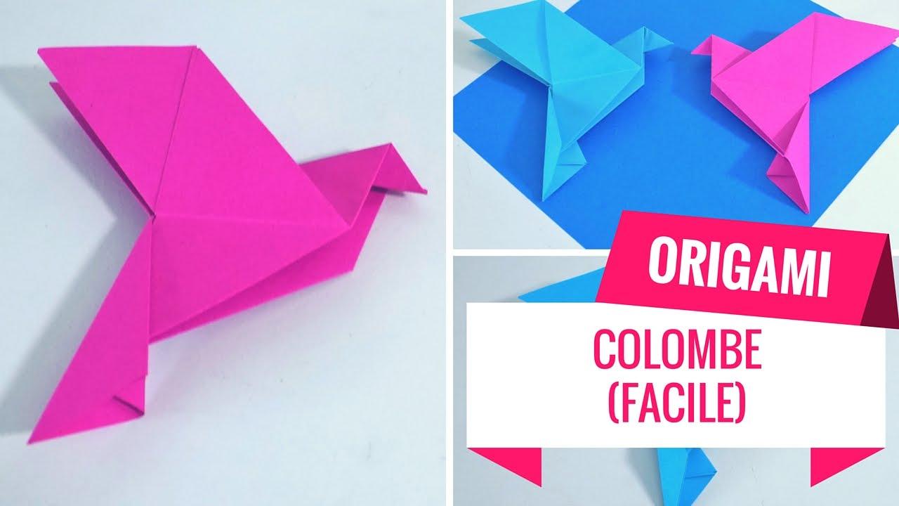 Comment Faire Une Colombe En Origami ? (Tutoriel) avec Origami Facile A Faire En Français