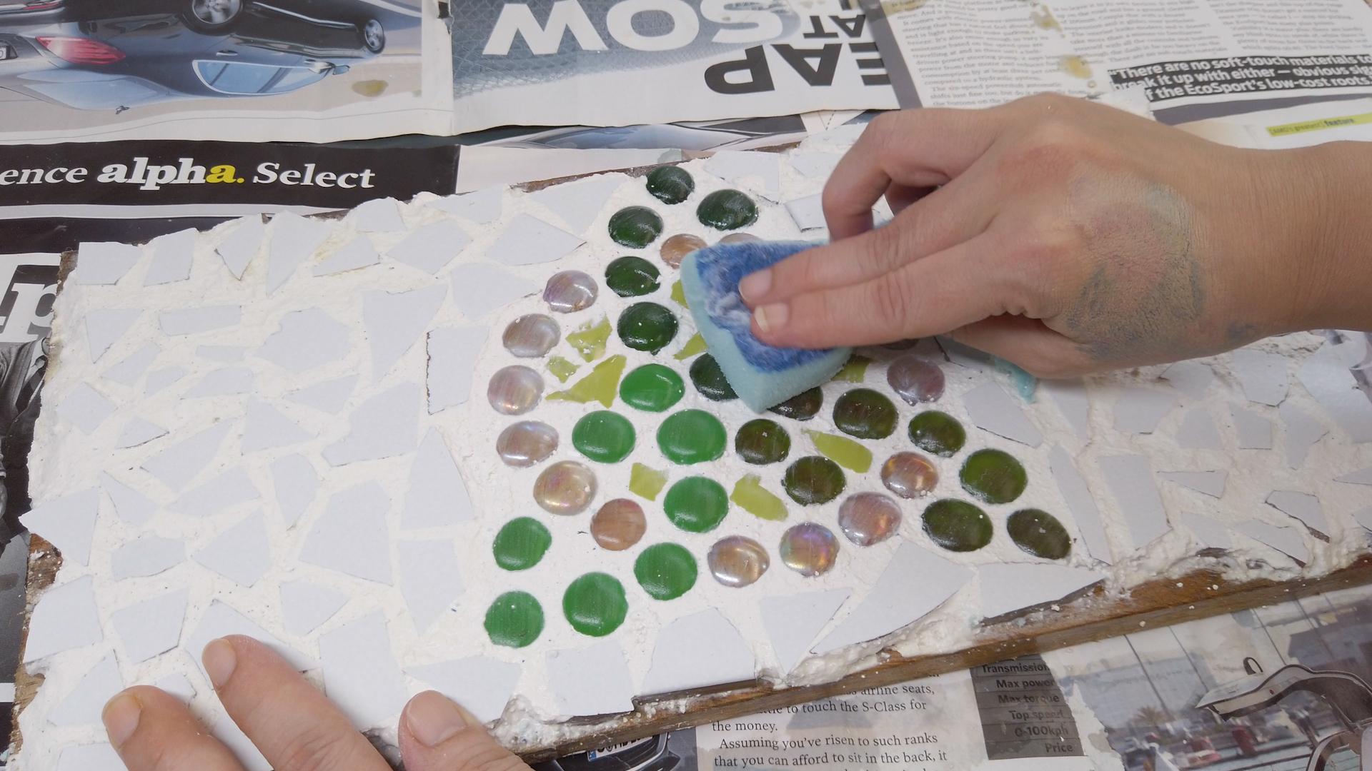 Comment Faire Une Mosaïque: 14 Étapes (Avec Images) destiné Support Pour Mosaique