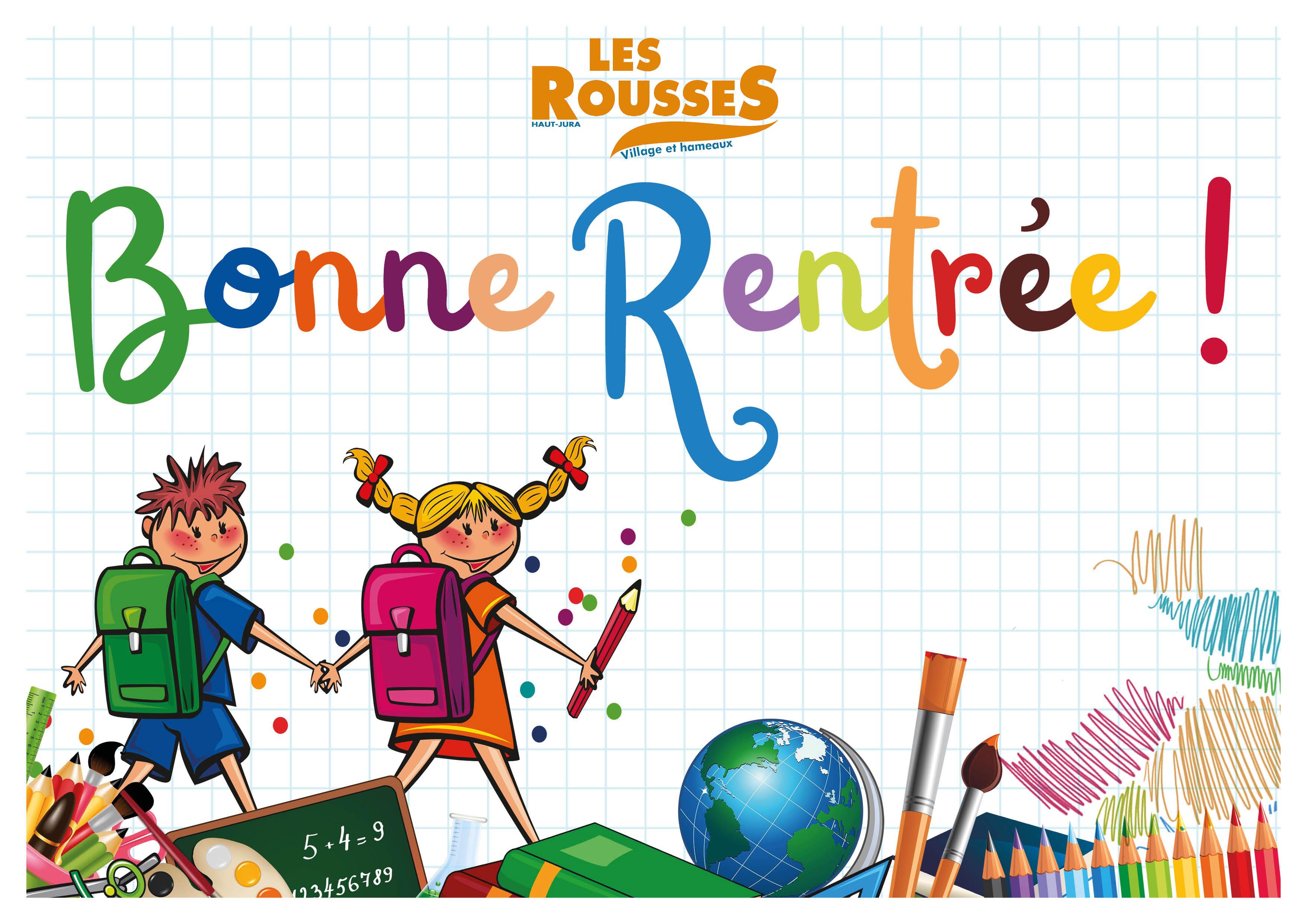 Commune Des Rousses - Haut Jura - Toute L'actualité destiné Image Bonne Rentrée Des Classes