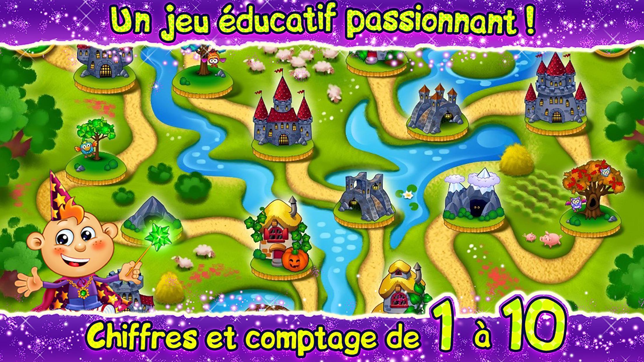 Comptage & amp;  Chiffres!  Jeux Pour Les Enfants 2 3 Ans Pour tout Jeux Educatif 3 Ans