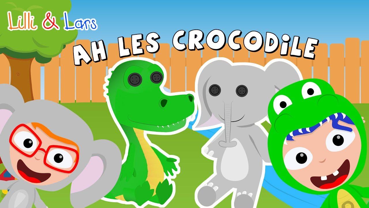 Comptine Ah Les Crocodiles Paroles - Crocrocro Crocodile Chanson avec Ah Les Cro