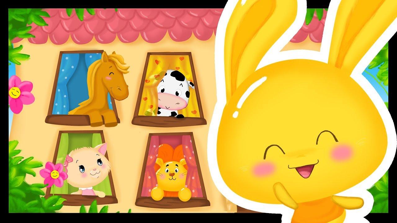 Comptine Des Animaux Pour Bébés - Dans Ma Maison - Chanson Des Animaux  -Titounis dedans Chanson Pour Les Animaux