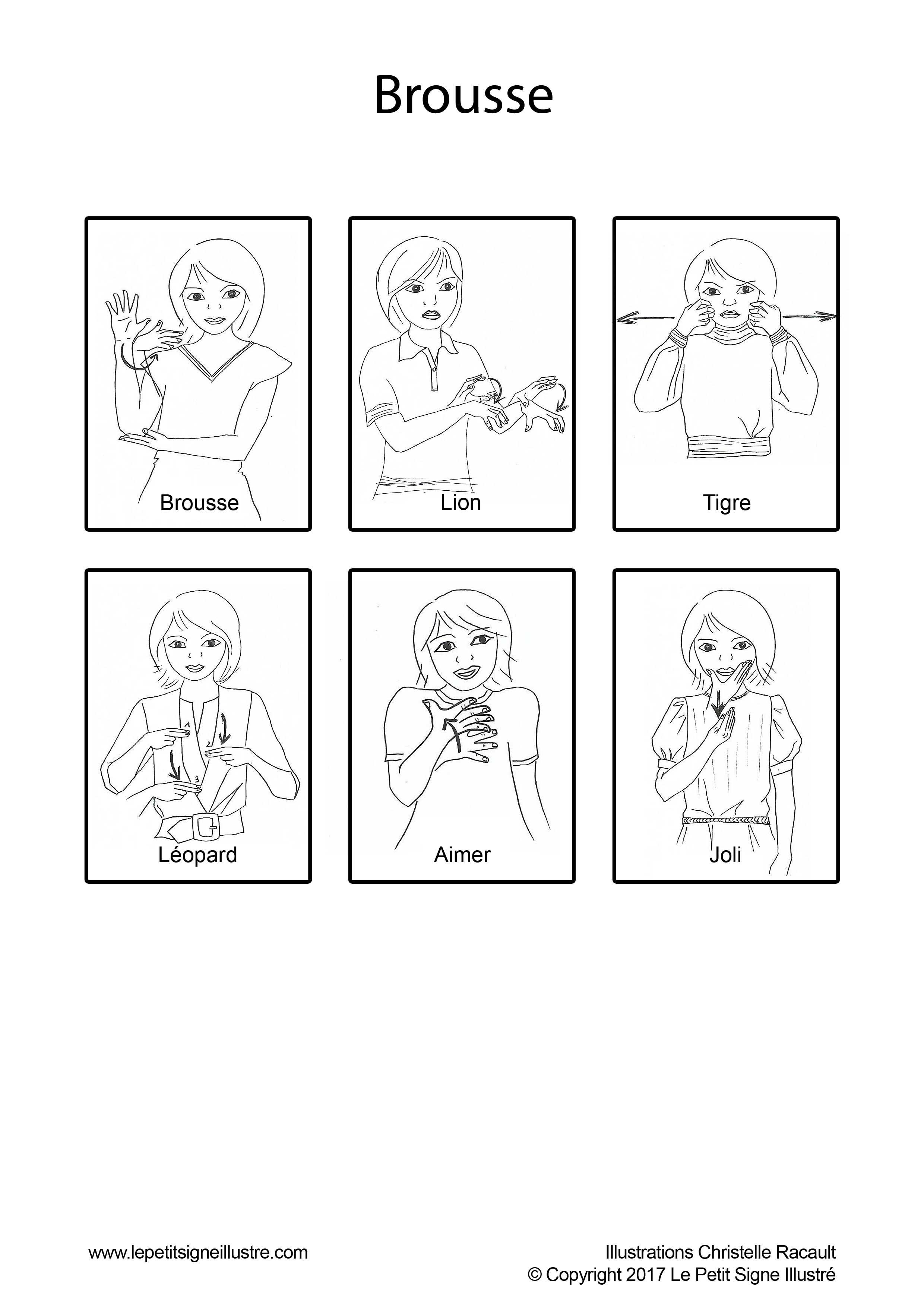 Comptines En Langue Des Signes - Le Petit Signe Illustré tout Petit Moulin Chanson