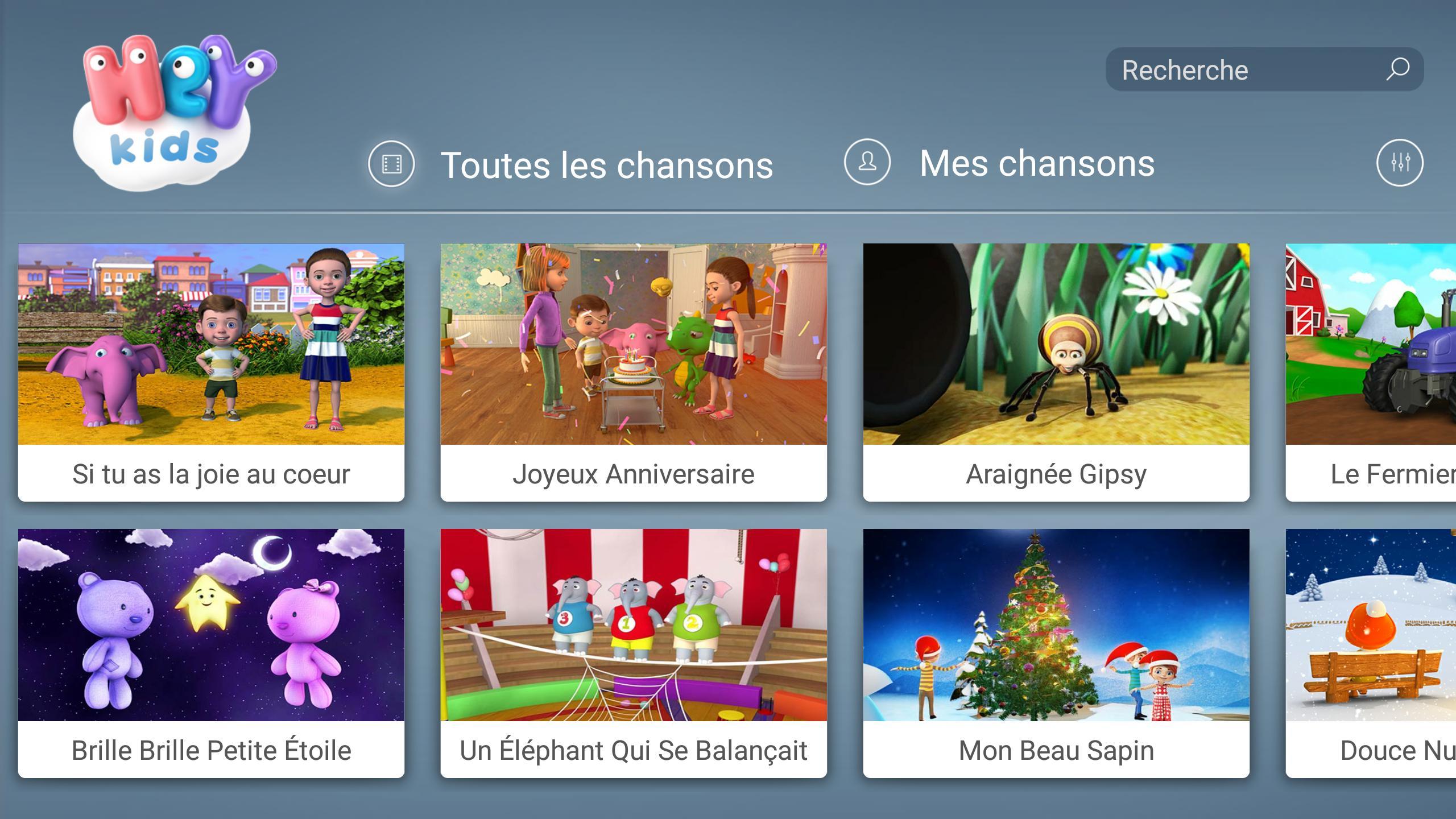 Comptines Pour Bébé - Heykids Für Android - Apk Herunterladen dedans Chanson Pour Bebe 1 An