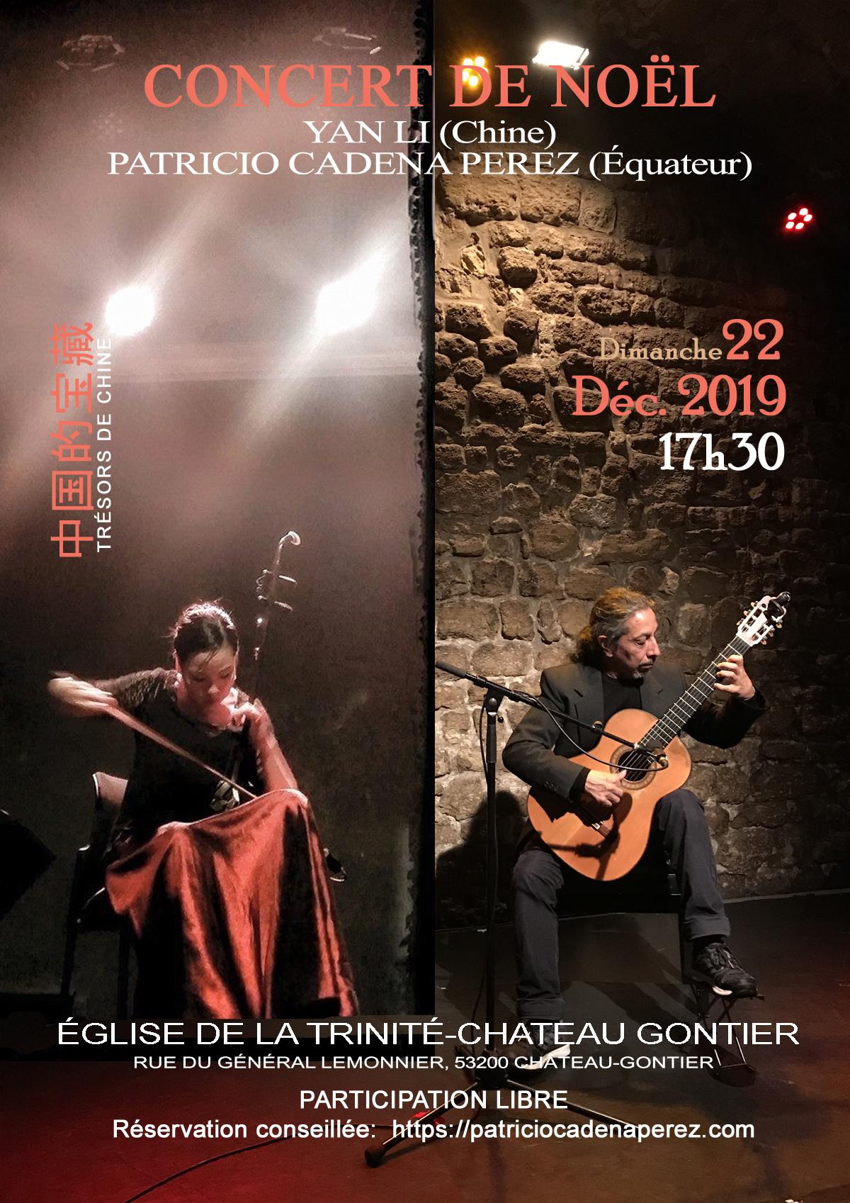 Concert De Noël - Entre La Chine Et L'equateur - Château dedans Chanson De Noel En Chinois