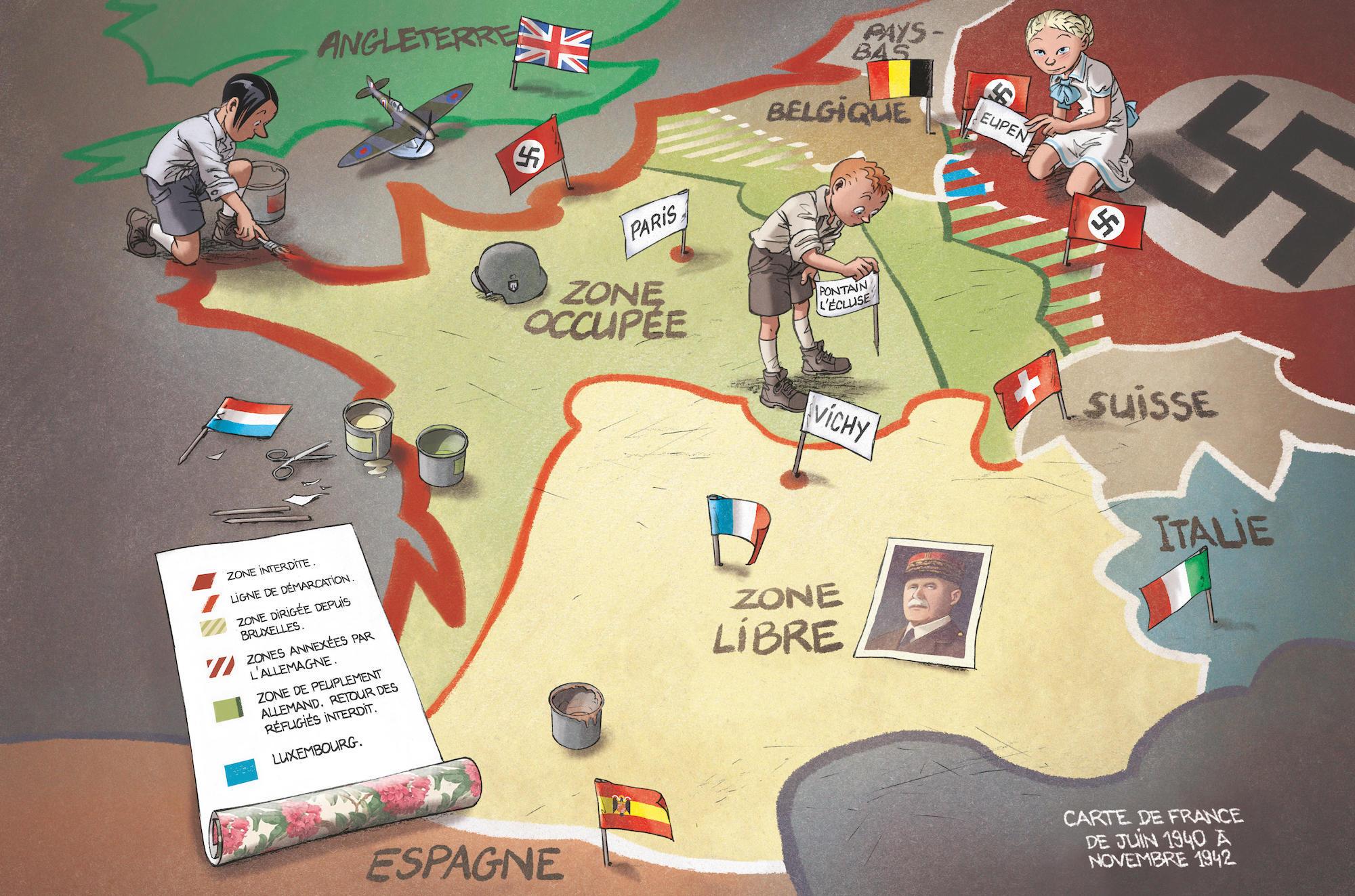 Concours - Remportez L'intégralité De La Série Les Enfants intérieur Carte De France Pour Les Enfants