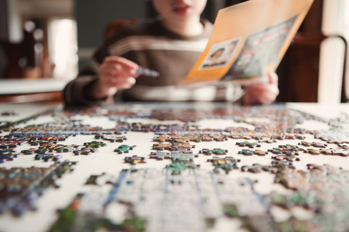 Confinement : La Glorieuse Revanche Du Puzzle dedans Puzzle En Ligne Enfant