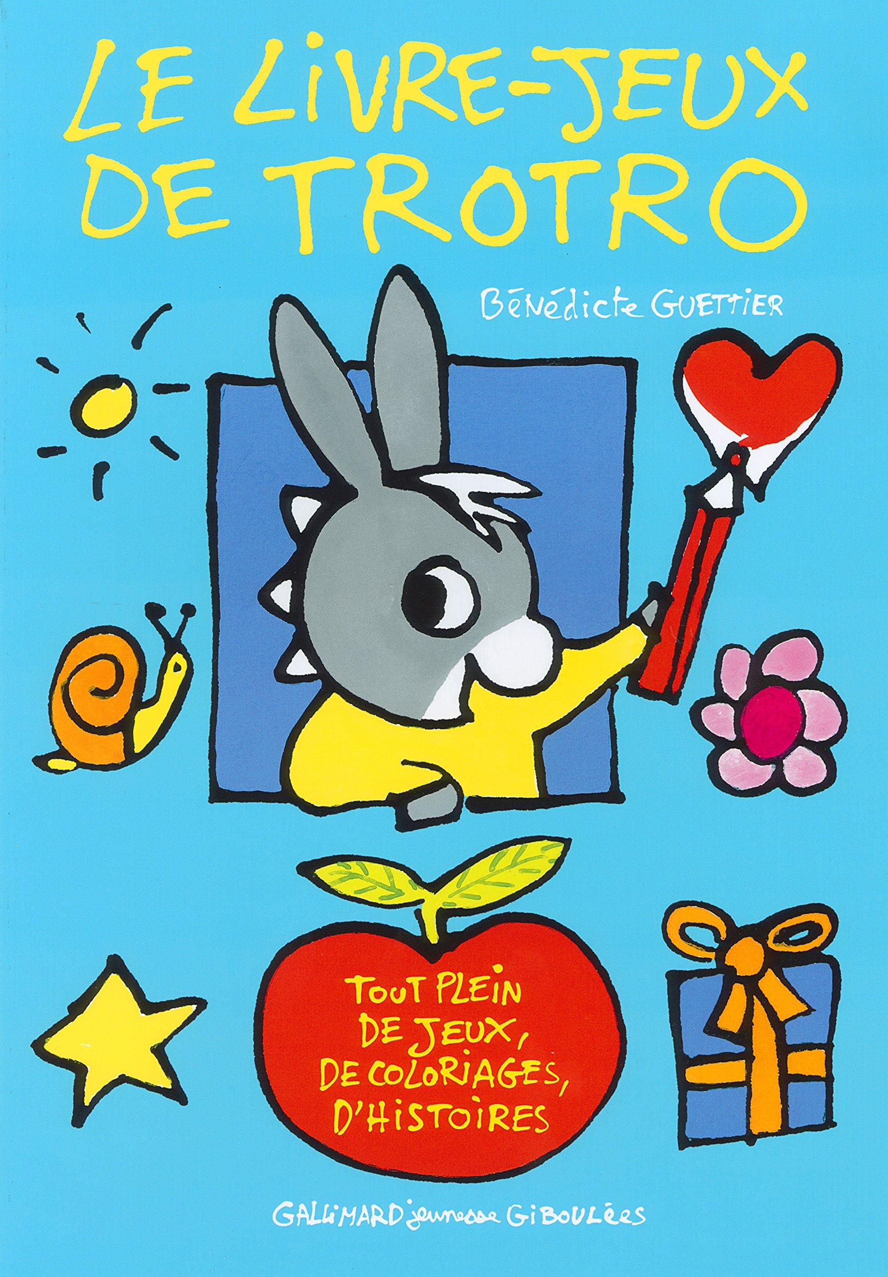 Contes Pour Enfants Le Livre-Jeux De Trotro À Lire - Fr encequiconcerne Nouveau Trotro