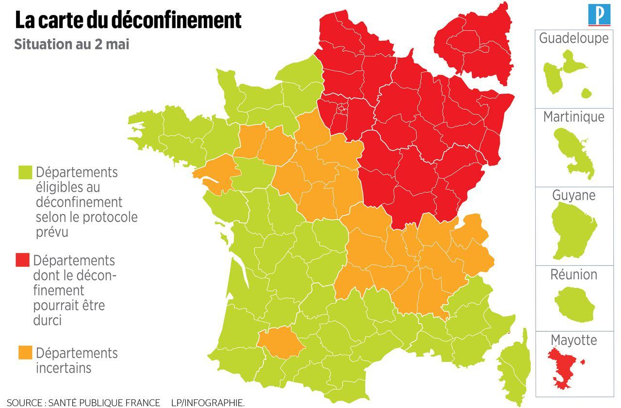 Coronavirus : 166 Nouveaux Décès, Une Nouvelle Carte Pour Le à Carte De France Pour Les Enfants