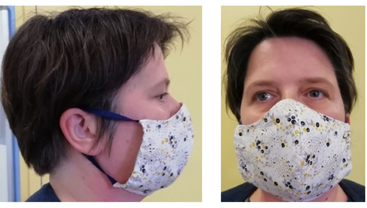 Coronavirus : Le Chu De Grenoble Réalise Un Tuto Pour à Masque Canard À Imprimer