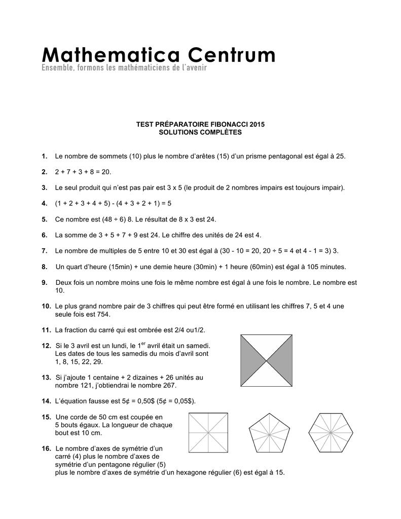 Corrigé 2015 - Mathematica avec Nombres Pairs Et Impairs Ce2