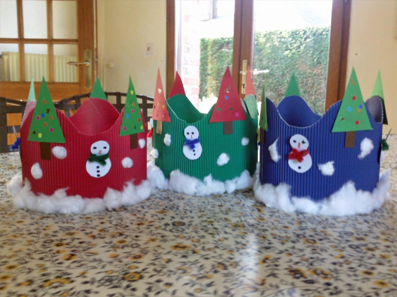 Couronne De Noël   Bricolage Noel, Cartes De Noël Bricolage serapportantà Bricolage Cp Noel