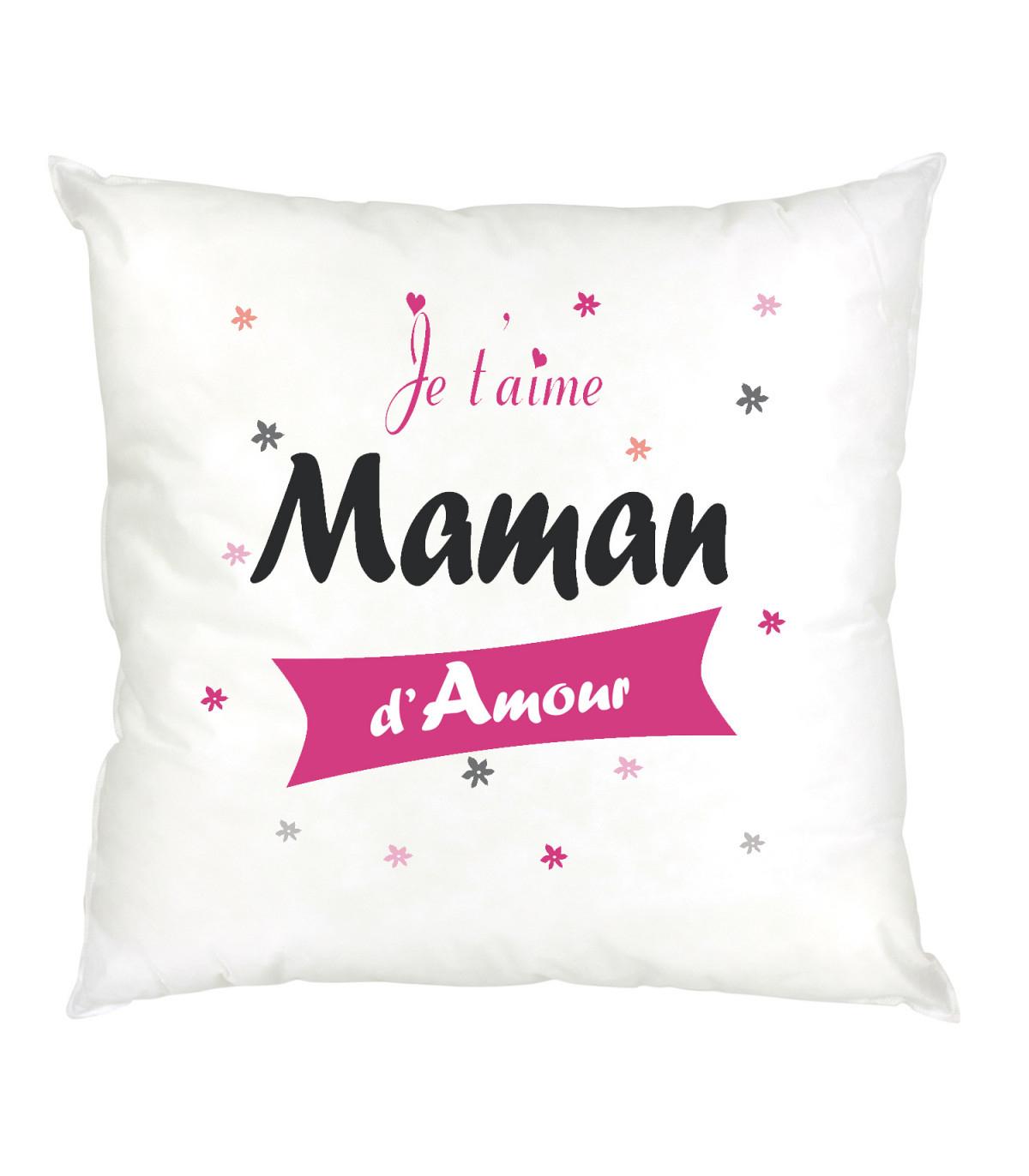 Coussin Maman Je T'aime destiné Texte Maman Je T Aime