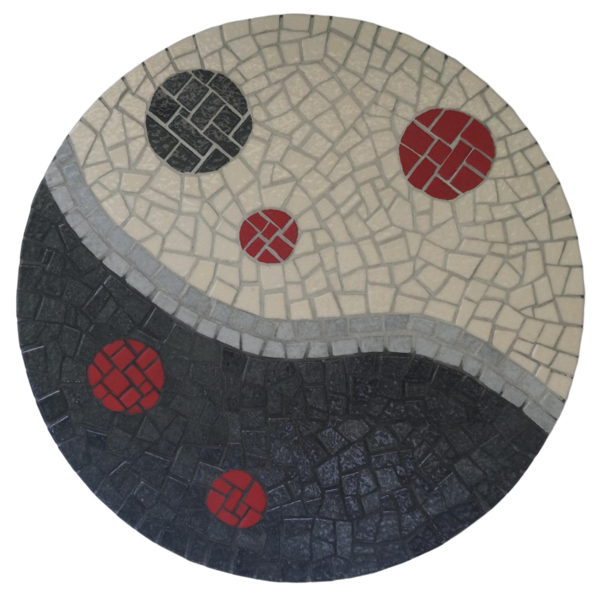 Créations En Mosaïque Originales avec Support Pour Mosaique