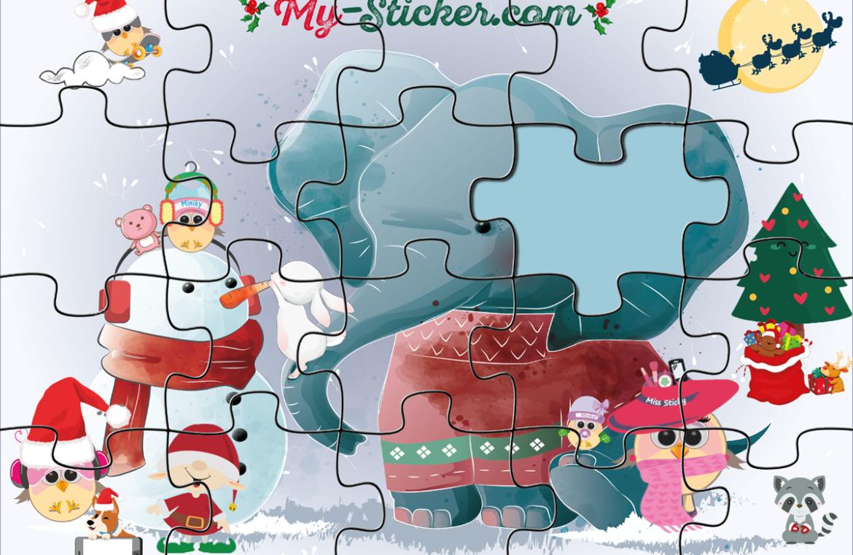 Créer Un Puzzle [À Imprimer] Pour Enfant ⋆ Blog My Sticker à Puzzle En Ligne Enfant
