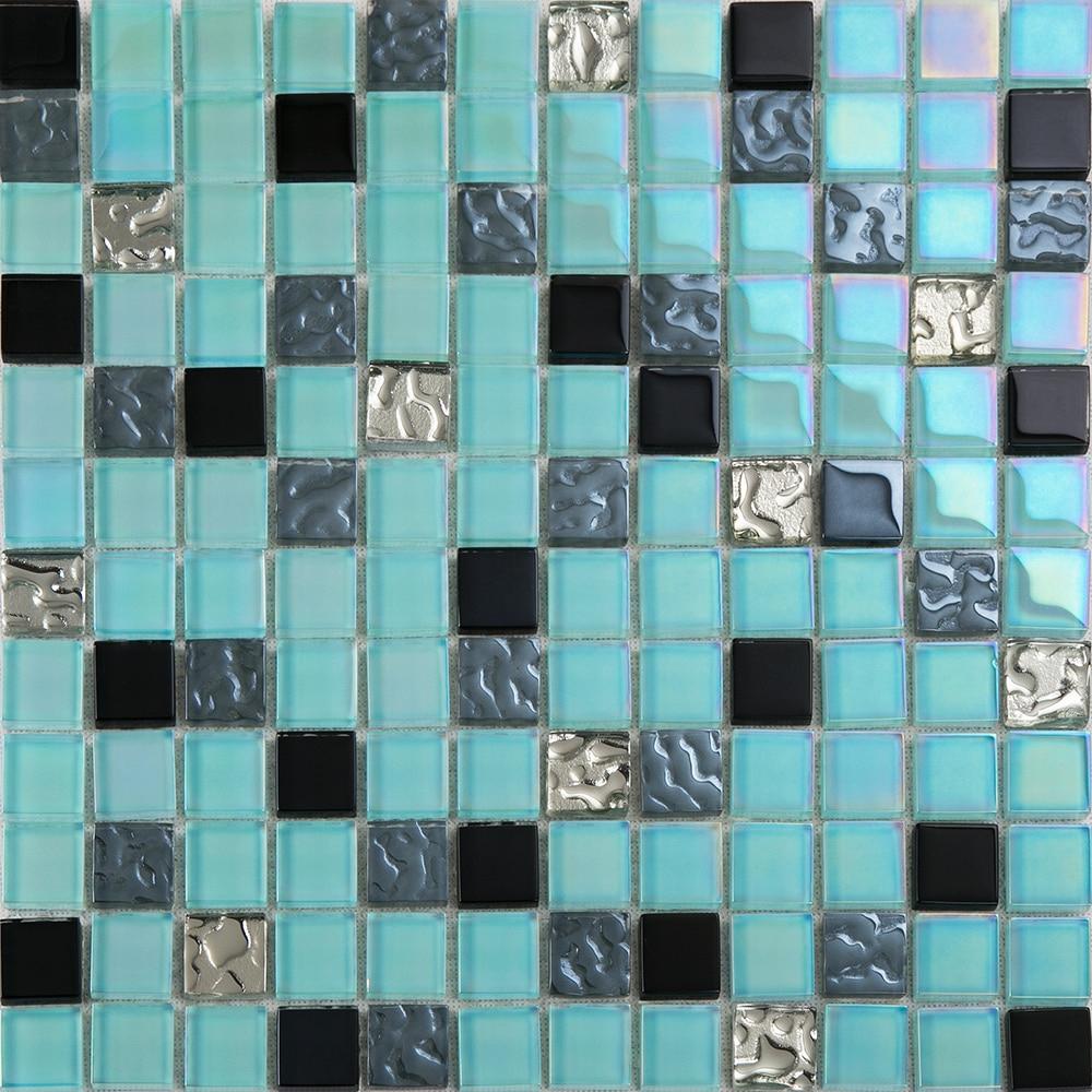 Cristal En Verre Plaqué Méditerranée Orientale Carrelage encequiconcerne Support Pour Mosaique