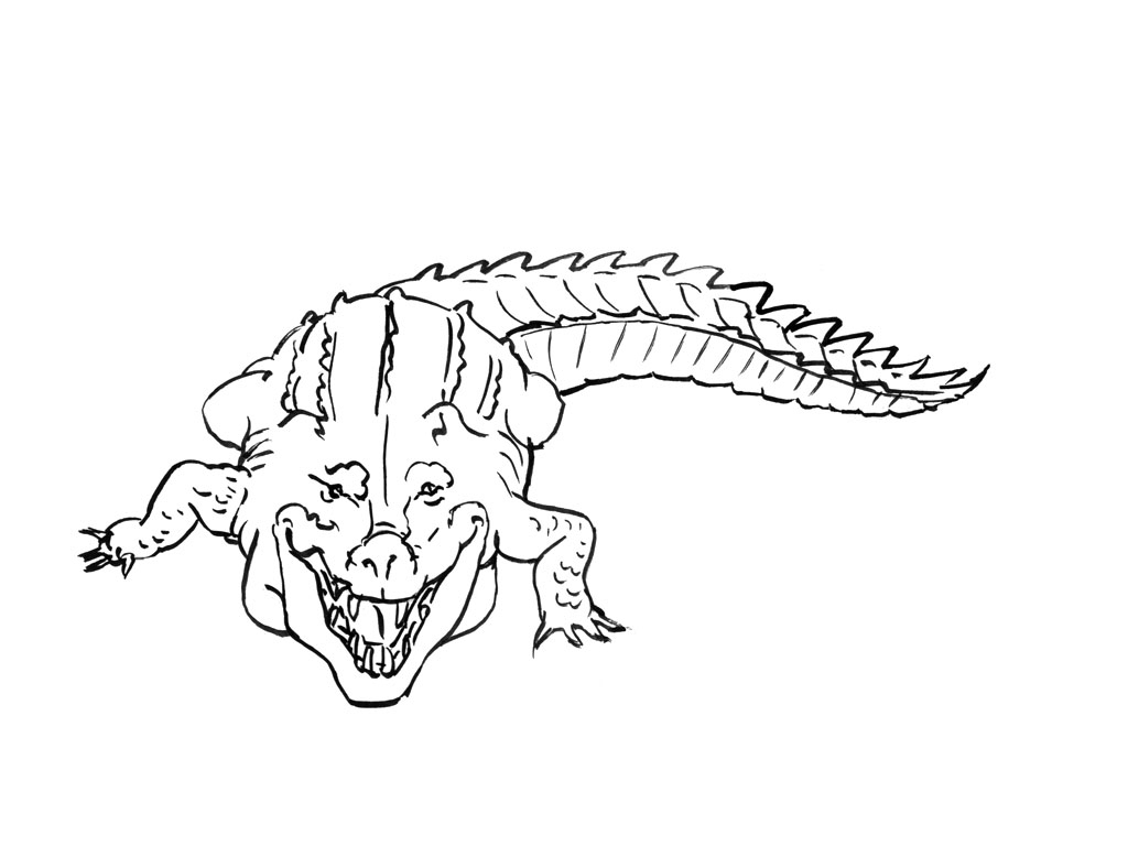 Crocodile #60 (Animaux) – Coloriages À Imprimer pour Photo De Crocodile A Imprimer