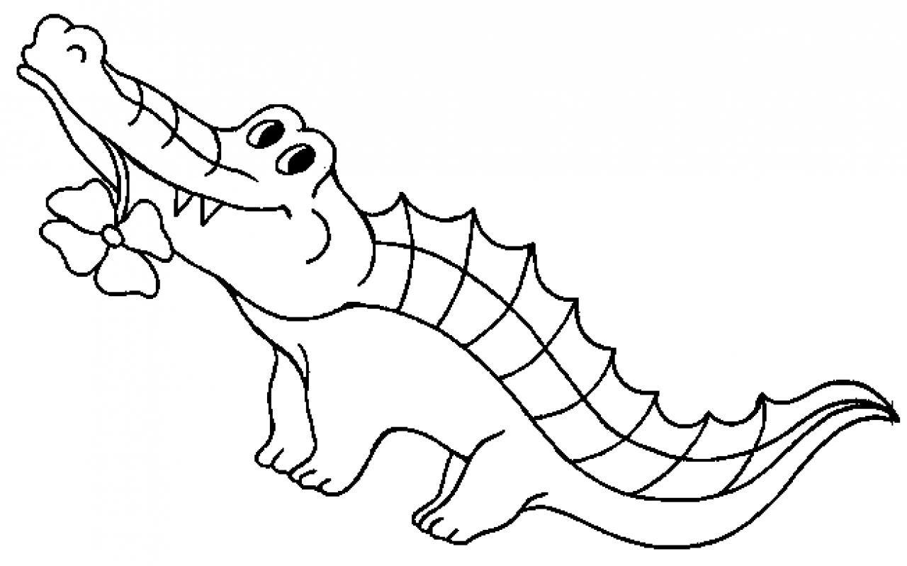 Crocodile (Animaux) – Coloriages À Imprimer intérieur Photo De Crocodile A Imprimer