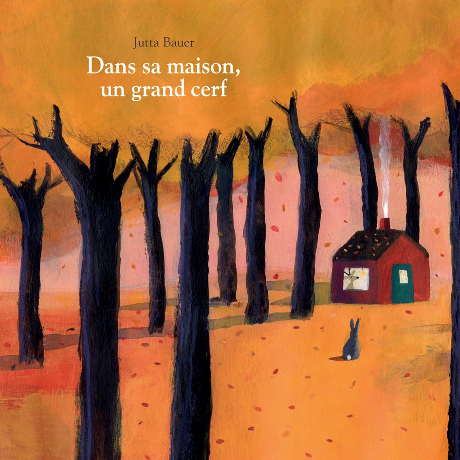 Dans Sa Maison, Un Grand Cerf | L'école Des Loisirs serapportantà Chanson Du Cerf Et Du Lapin